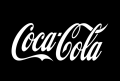 Coca Cola logo iron on stickers (heat transfer)