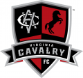 Virginia Cavalry FC Logos timeline iron on transfer