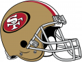San Francisco 49ers 2009-Pres Helmet decal sticker