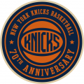 New York Knicks 2016-17 Anniversary Logo iron on transfer
