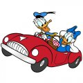 Donald Duck DIY decals stickers version 22