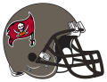 Tampa Bay Buccaneers 1997-2013 Helmet iron on transfer