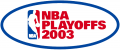 NBA Playoffs 2002-2003 iron on transfer