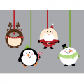 Personalized Christmas Decoration DIY decals stickers 6
