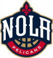 New Orleans Pelicans 2013-14-Pres Secondary Logo 01 iron on transfer