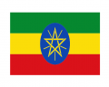 Ethiopia Flag iron on transfer