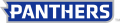 Eastern Illinois Panthers 2015-Pres Wordmark Logo 09 decal sticker