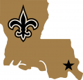 New Orleans Saints 2000-2005 Alternate Logo iron on transfer