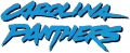 Carolina Panthers 1996-2011 Wordmark Logo iron on transfer