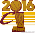 Cleveland Cavaliers 2016 Champion Logo iron on transfer