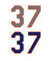 New York Mets 37 Number