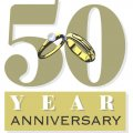 The 50th Anniversary DIY decals stickers