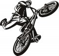 BMX JumpBike iron on transfer