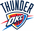 Oklahoma City Thunder 2008-09-Pres Primary Logo decal sticker