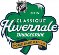 NHL Winter Classic 2018-2019 Alt. Language decal sticker