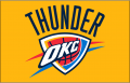 Oklahoma City Thunder 2008-09-Pres Primary Dark Logo decal sticker