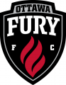 Ottawa Fury FC Logos timeline iron on transfer