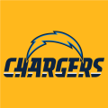 Los Angeles Chargers 2017 Alt on Dark Logo 01 iron on transfer