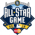 MLB All-Star Game 2016 Sponsored iron on transfer