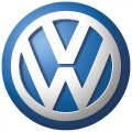Volkswagen logo DIY decals stickers version 1