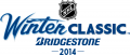 NHL Winter Classic 2013-2014 Wordmark 02 decal sticker