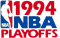 NBA Playoffs 1993-1994 iron on transfer