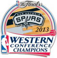 San Antonio Spurs 2012-13 Champion Logo iron on transfer