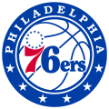 Philadelphia 76ers 2016-Pres Primary Logo iron on transfer