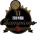 Toronto Raptors 2018-19 Champion Logo decal sticker