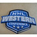 NHL West Conference Logo Patches