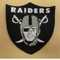 Oakland Raiders Logo Patches