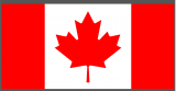 Flag of Canada iron on sticker