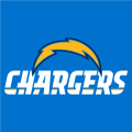Los Angeles Chargers 2017 Alt on Dark Logo iron on transfer