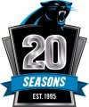 Carolina Panthers 2014 Anniversary Logo iron on transfer