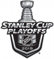 Stanley Cup Playoffs 2018-2019 iron on transfer