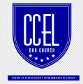 CCEL DHH CHURCH IRON ON STICKER