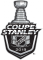 Stanley Cup Playoffs 2018-2019 Alt. Language iron on transfer
