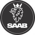 Saab logo DIY decals stickers version 1