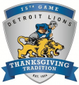 Detroit Lions 2014 Special Event Logo iron on transfer