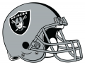 Oakland Raiders 1995-Pres Helmet iron on transfer