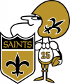 New Orleans Saints 1967-1984 Alternate Logo iron on transfer