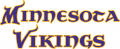 Minnesota Vikings 2004-Pres Wordmark Logo iron on transfer