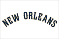 New Orleans Pelicans 2013-14-Pres Wordmark Logo 01 iron on transfer