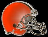 cleveland browns 2015-pres primary plastic effect logo iron on transfer