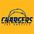 Los Angeles Chargers 2017 Alt on Dark Logo 02 iron on transfer
