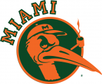 Miami Hurricanes 1949-1965 Alternate Logo 01 iron on transfer
