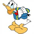 Donald Duck DIY decals stickers version 10
