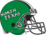 North Texas Mean Green 2005-Pres Helmet 01 decal sticker