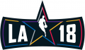 NBA All-Star Game 2017-2018 Wordmark iron on transfer