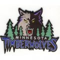 Minnesota Timberwolves Logo Embroidered Iron On Patches
